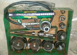 Greenlee 7310sb Hydraulic Knock out Punch Kit Great Price