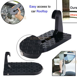 Folding Car Door Latch Hook Step Mini Foot Pedal Ladder For Jeep Suv Truck Roof