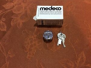 Medec 1 Mortise Cylinder Sub Assembly With 2 Keys