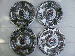 1967 Chevrolet Chevelle Wheel Covers 67 Chevy Hubcaps