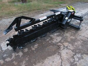 Bobcat Skid Steer Loader Attachment Lowe Xr 35 60 By 6 Trencher Ship 199