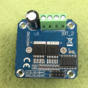 1pcs New Bts7960 Driver Module 43a Current Limiting Semiconductor Refrigeration
