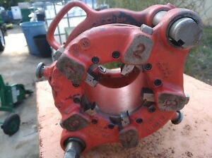 Ridgid 141 Pipe Threader Die 2 1 2 To 4 Inch Used With 300 Or 535 Great Shape