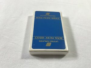 Vintage United Airlines Royal Pacific Service Playing Cards $15.00
