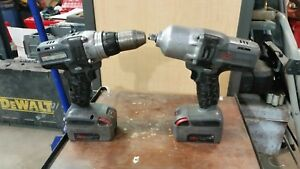 Ingersoll Rand 20v Iqv 1 2 Impact Wrench And Drill Combo charger Not Included
