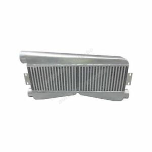 Twin Turbo Fmic Intercooler 2 Inlet 1 Outlet For Mustang Camaro Gt Gto