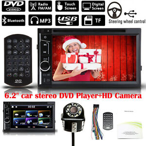 6 2 Double 2 Din In Dash Car Dvd Stereo Hd Camera For Nissan Altima 2013 2015