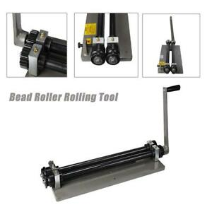 Steel Bead Roller Rolling Tool Sheet Gear Drive Rotary Metal Fabrication Machine