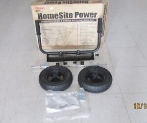 Onan Home site Wheel Collapsible Handle Kit For Generator Never flat Tires