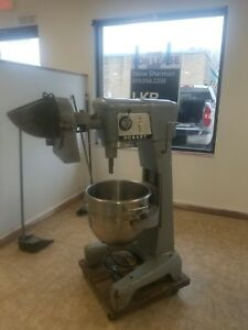 30qt D300 Hobart Mixer With Attachments And Bowl shipping Available