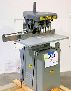 Challenge Eh 3a 3 hole Paper Drill With Auto Side Trip Inventory 3532