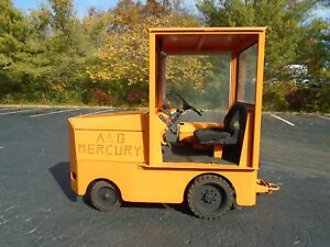 Ag Mercury 470e With Cab Ton Tractor Tugger Lp Gas With Video