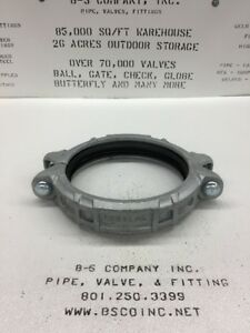 Gruvlok 7001 Galvanized Grooved Coupling 10 W Gasket heavy Flexible Type