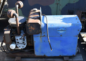 Miller Aead 200le Gas Engine Powered Constant Current Ac Dc Welder Generator