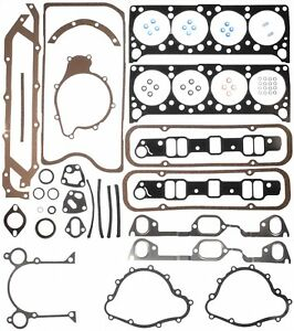1965 1971 Pontiac 326 455 V8 Engines Full Gasket Set Mahle Original 95 3397