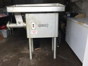 Hobart 4146 Commercial Meat Grinder Converted By Hobart Quincy Illinois To 220v