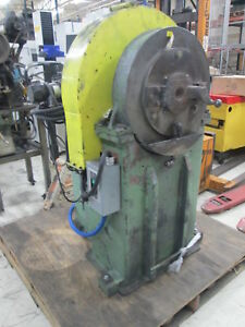 The Torrington Co Size No.3 2 Die Rotary Swaging Machine WVariable Speed Feeder
