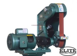 New Burr King 2 X 42 Belt Grinder Model 482