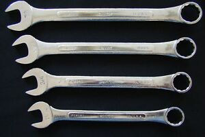 S k Tools Usa Sae 12 Point Combination Open box Wrenches Lot Of 4