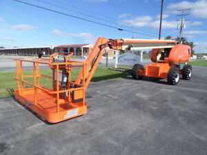 2010 Jlg 660sj 66 Boom Lift 66ft Man Lift Manlift Straight Stick Boomlift