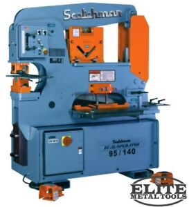 New Scotchman Dual Operator Ironworker Do 95 140 24m
