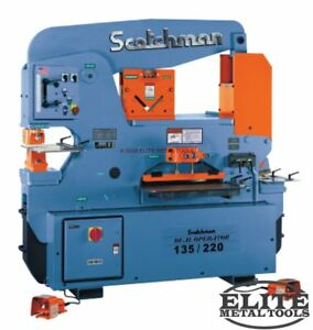 New Scotchman Dual Operator Ironworker Do 135 220 24m