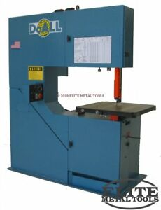 New Doall Vertical Contour Band Saw 3613 v3