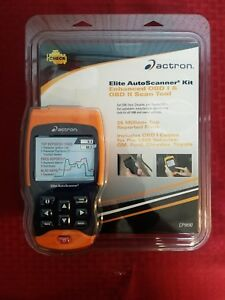 Actron Elite Autoscanner Kit Enhanced Obd I And Obd2 Scan Tool Cp9690 Nib