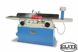New Baileigh Long Bed Parallelogram Jointer With Helical Cutter Head Ij
