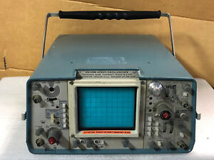 Tektronix 465m 100mhz Dual trace Oscilloscope An usm 425 v 1 As is Free S