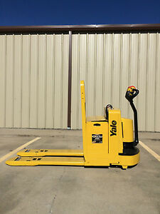 2005 Yale Electric Pallet Jack Model Mpw060 Forklift Walkie