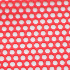 10 Sheets 1 Box Dental Lab Supplies Red Round Hole Patterns Wax Casting Flexible