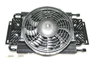 Hayden Transmission Fluid Oil Cooler Fan The Dawg 525 Rv Tow Towing Off road