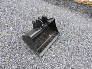 Attachments Plus 30 Kubota B26 Compact Tractor Backhoe Clean Up Smooth Bucket