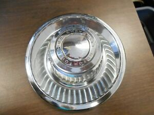 Chevrolet Hub Cap Hubcap Wheel Center 1960s 1970s Chrome Vintage Car
