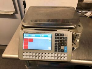 Digi Sm5500b Label Scale With Pc Management Software Deli Grocery Meat