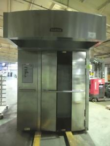 Baxter Ov500g2 ee Stainless Steel Rotating Rack Oven Natural Gas Dom 8 13