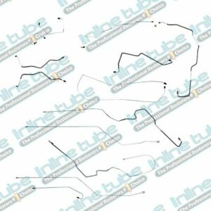 2000 2005 Chevy Cavalier Pontiac Sunfire With Abs And Tc Brake Line Kit Steel