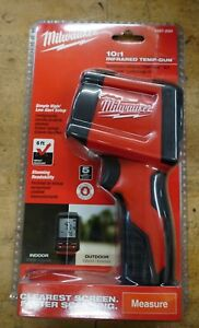 Milwaukee 2267 20h 10 1 Infrared Thermometer Lcd Display Temperature Gun New