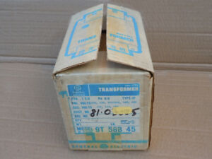 Ge General Electric 9t 58b 45 Dry Type Transformer 9t58b45 new