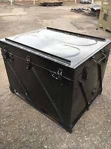 Steel Shipping Storage Container 4 L X 3 W Waterproof Dust Tight 399lbs
