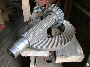Case Tractor Ring Gear And Pinion Shaft Set Part A179357 Fits 970 1070 Case