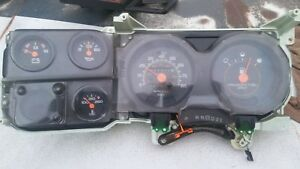 91 Chevy Square Body Gauge Cluster Instrument Cluster Electric Overdrive