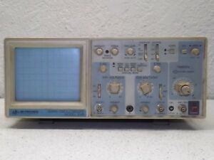 Bk Precision 2120 20mhz Oscilloscope With Probe Kit Pkw 105 And Manuel