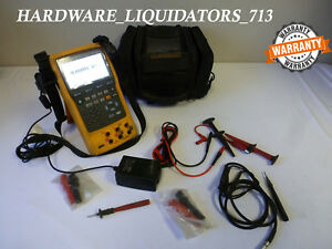 Fluke 754 Documenting Process Calibrator W Hart Capability W case Fast Shipping