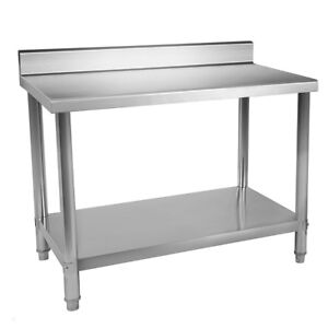 24 x36 Stainless Steel Work Table Food Prep Kitchen Restaurant With Backsplash