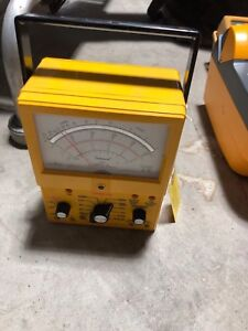Simpson Electric 260 8xi Analog Multimeter 1000v 10a 20m Ohms
