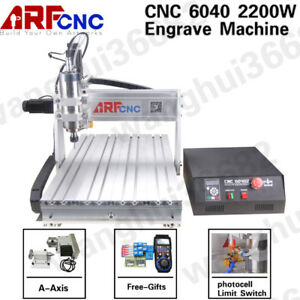 2 2kw Usb 6040 Cnc Router Engraver Drilling Engraving Machine Feed Height 145cm