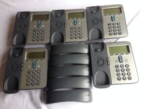 Cisco Cp 7911g Voip Phone Used lot Of 5