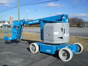 2013 Genie Z34 22n Electric Articulating Boom Lift Man Lift Manlift Boomlift
